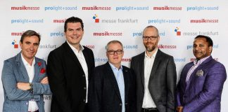 Musikmesse board changes