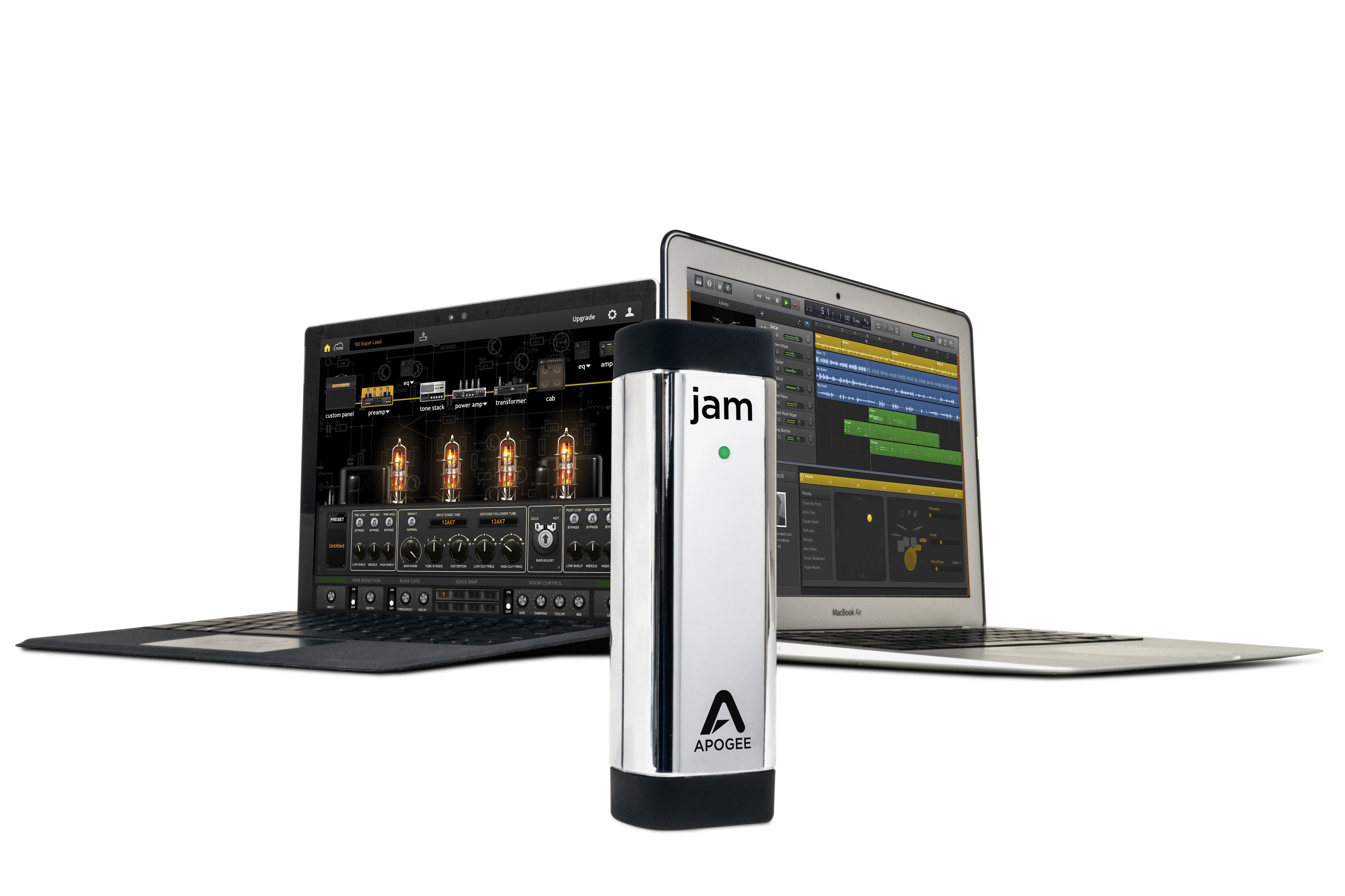 apogee announces jam 96k for windows and mac music instrument news. Black Bedroom Furniture Sets. Home Design Ideas
