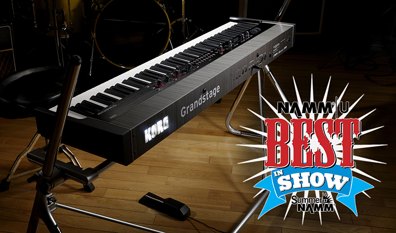 New Korg Grandstage picks up 'Best In Show' Award at Summer