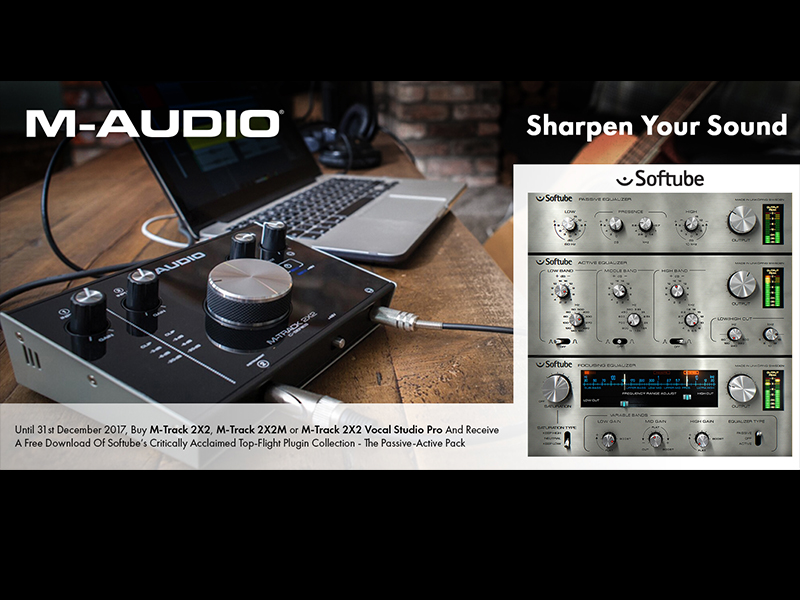 M-Audio's M-Track C-Series now with Softube plugins | Music
