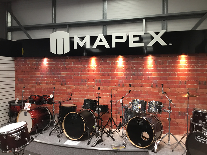 Mapex Drums at Manchester Drum