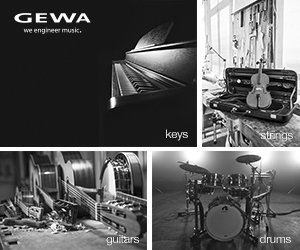 GEWA - Keys - Strings - Guitars - Drums
