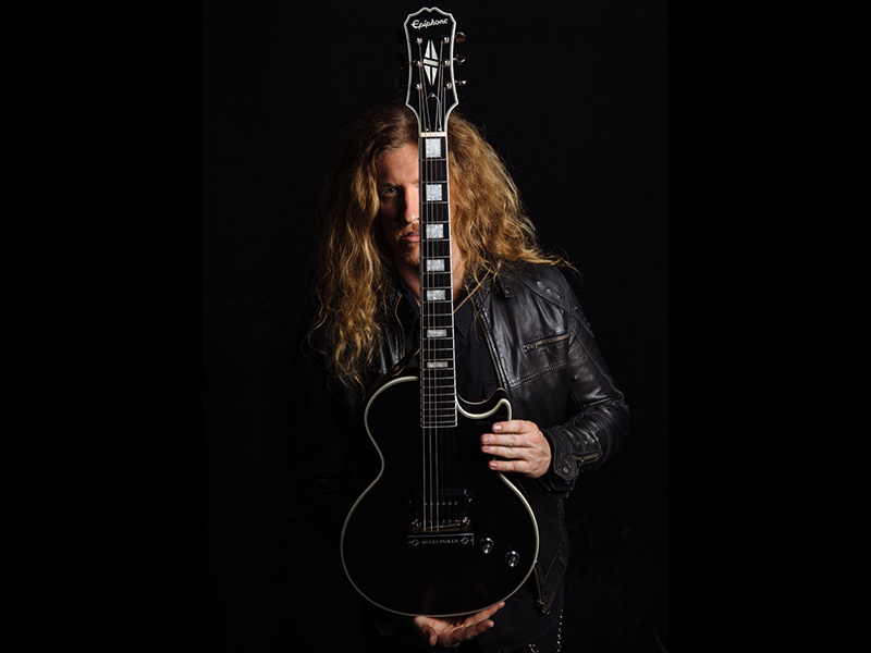Epiphone debuts Jared James Nichols 'Old Glory' | Music Instrument News