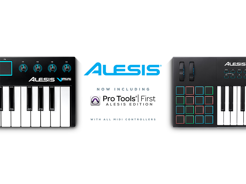 alesis includes avid s pro tools first and eleven lite plugin in all its keyboard controllers. Black Bedroom Furniture Sets. Home Design Ideas