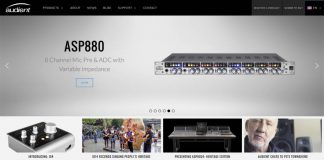 Audient New Website