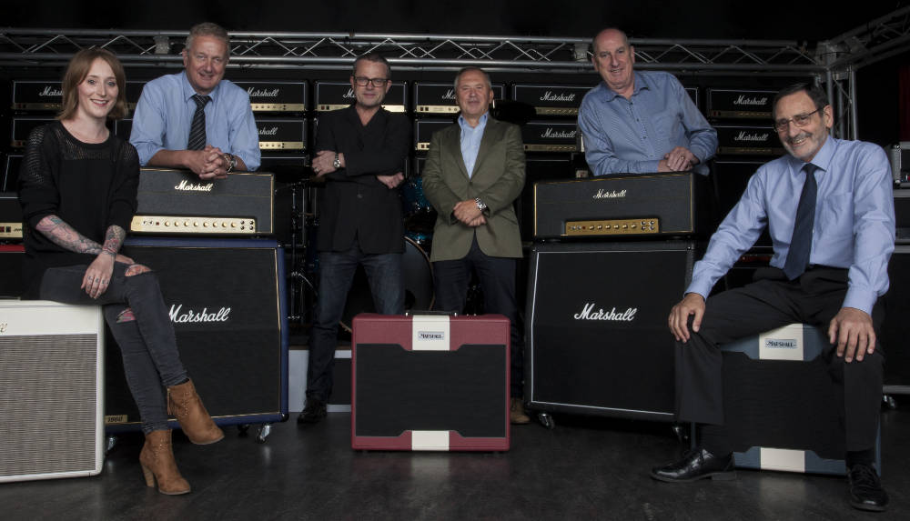 Marshall launches record label