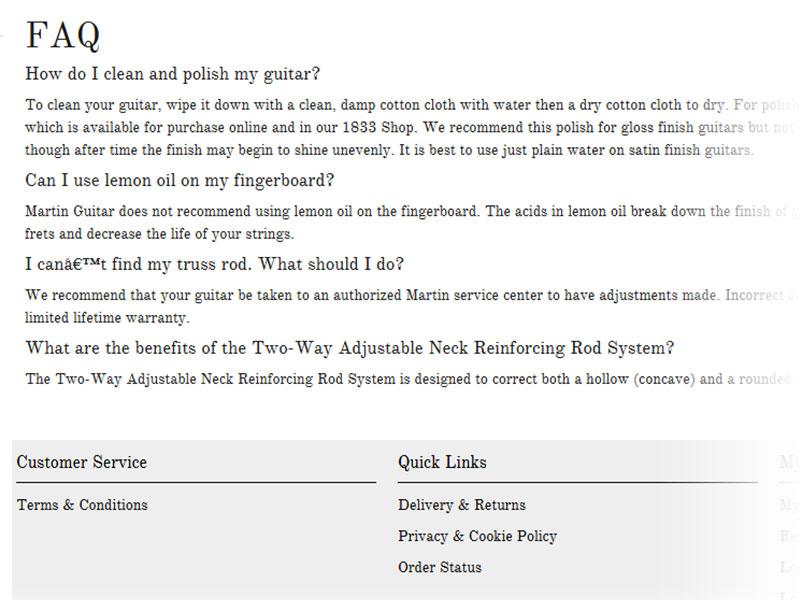 FAQ copied from previous bogus site