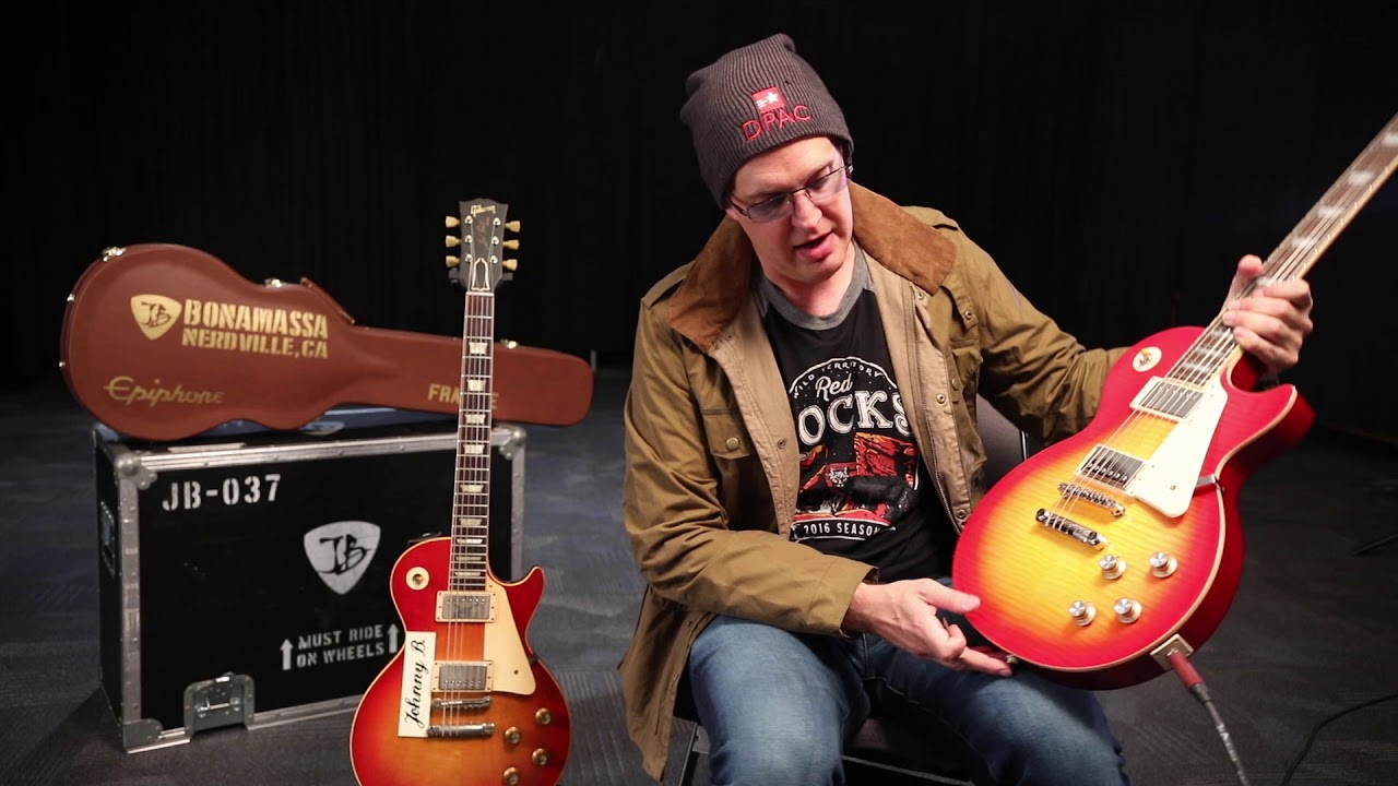 epiphone announce worldwide release of bonamassa s seventh signature guitar and favorite vintage. Black Bedroom Furniture Sets. Home Design Ideas
